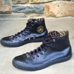 Converse  chuck Tayor BHM leather high  sneakers